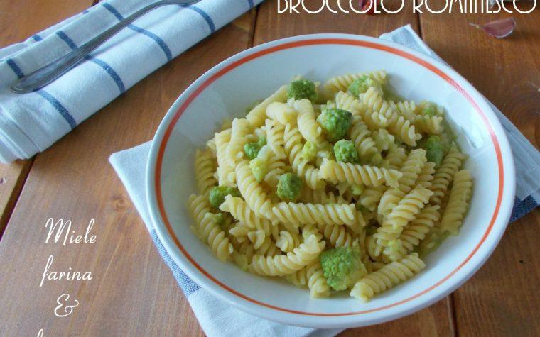 Fusilli vegetariani con broccolo romanesco