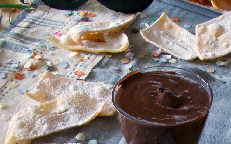 Sanguinaccio al cioccolato. Ricetta facile di carnevale