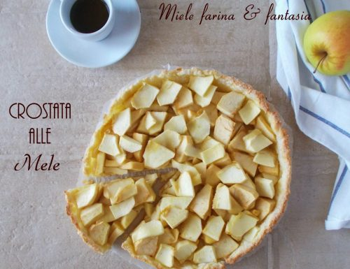 Crostata con le mele.Ricetta facile