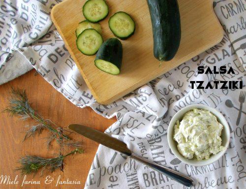 Salsa tzatziki fatta in casa