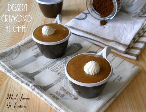 Dessert cremoso al caffè