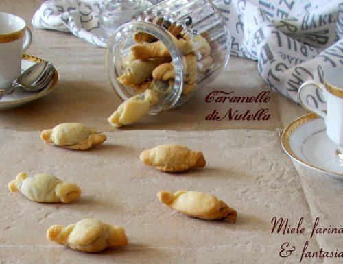 Caramelle ripiene di nutella
