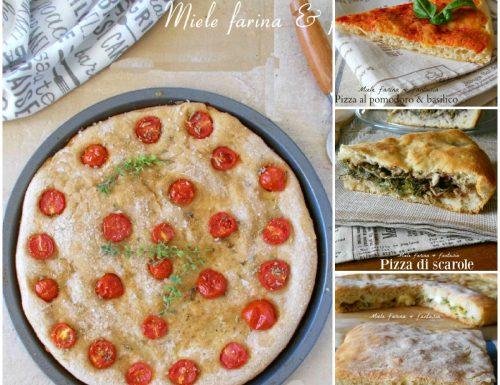 Pizze e focacce per tutti i gusti