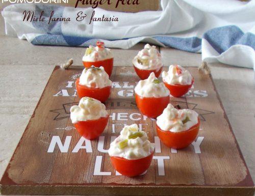 Pomodorini con salsa capricciosa