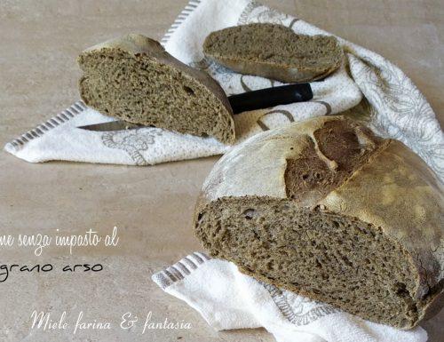 Pane senza impasto al profumo di grano arso