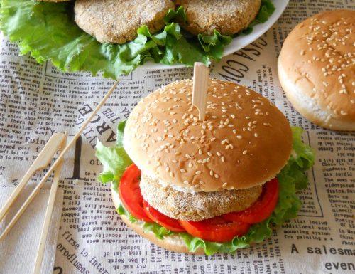 Burger di fagioli rossi senza uova