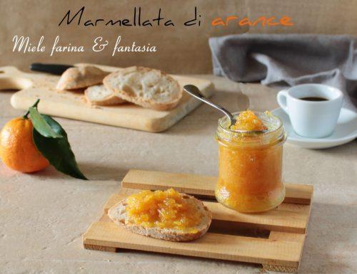 Marmellata di arance fatta in casa