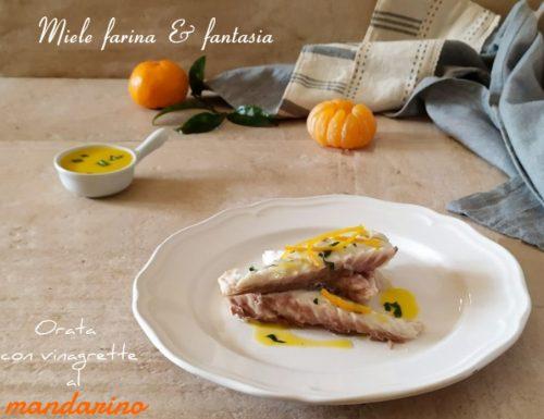 Orata al forno con salsa al mandarino