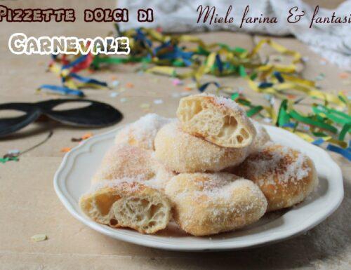 Pizzette dolci di Carnevale