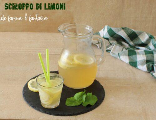 Sciroppo di limone fatto in casa