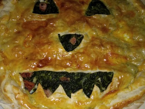 Torta mostruosa di halloween