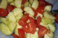 Insalata di CETRIOLI e pomodorini