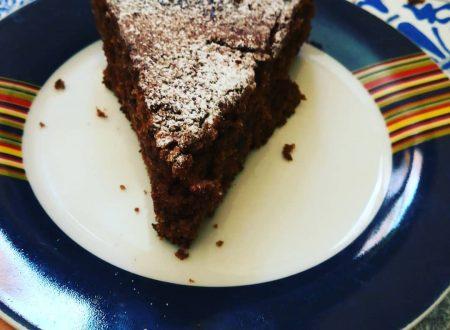 Torta al cacao(no lattosio-no uova)