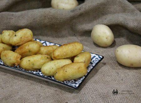 Cazzille palermitane ,Crocche' ,crocchette di patate