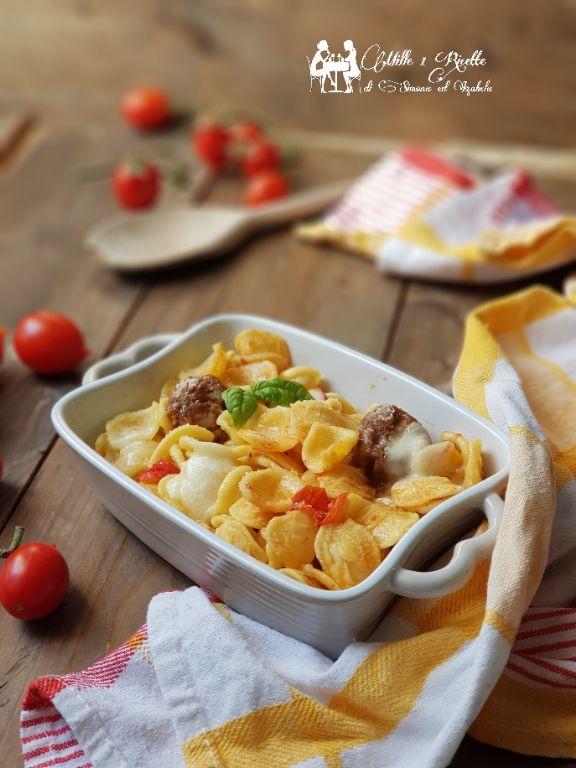 Orecchiette al forno con salsiccia di norcia