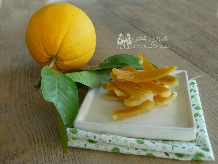 Scorza d'arancia candita