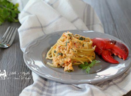 Spaghetti al ragù di Astice