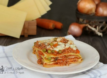 Lasagne al ragù e besciamella