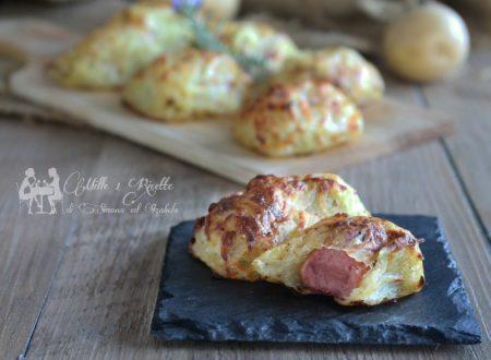 Crocchette morbide di patate con cuore ripieno