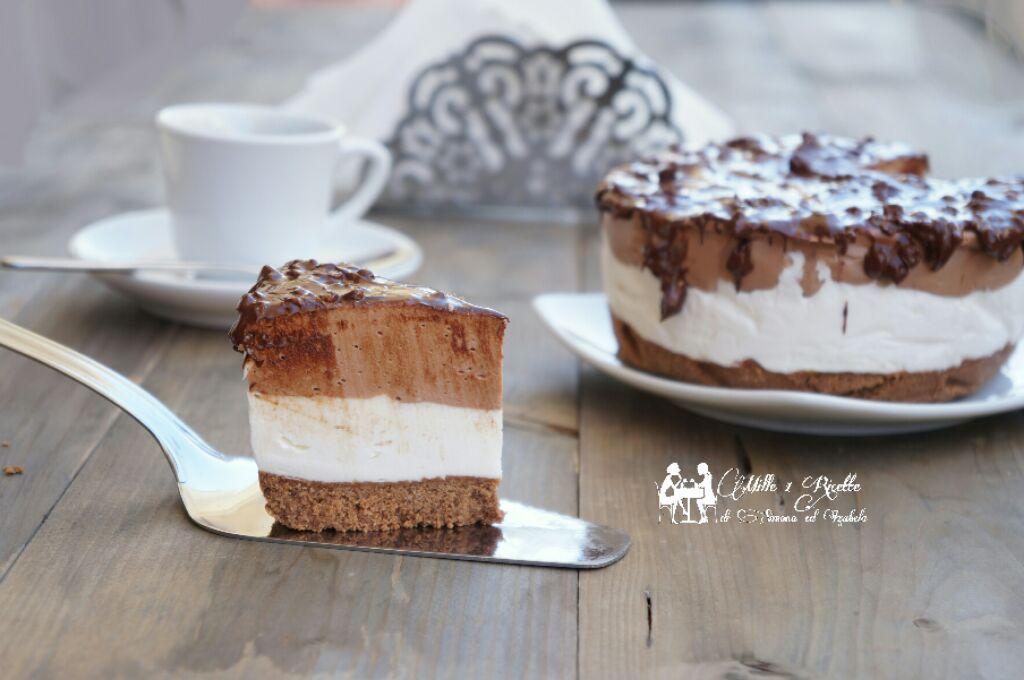 Torta semifreddo mascarpone e nutella