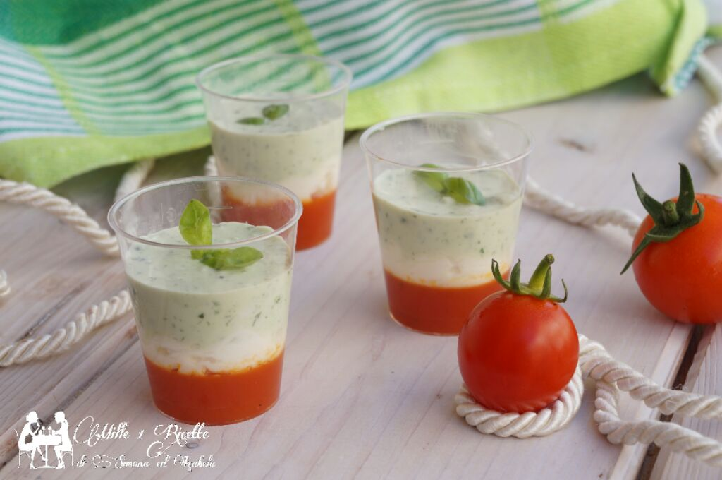 Fingerfood tricolore