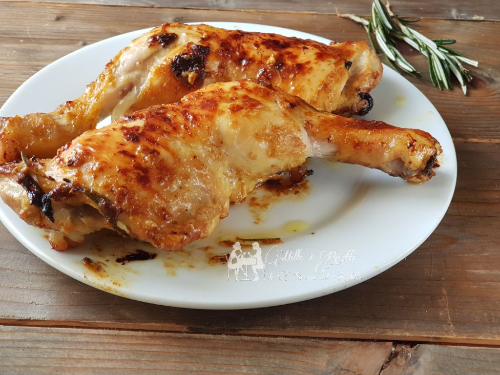 Pollo al senape e miele