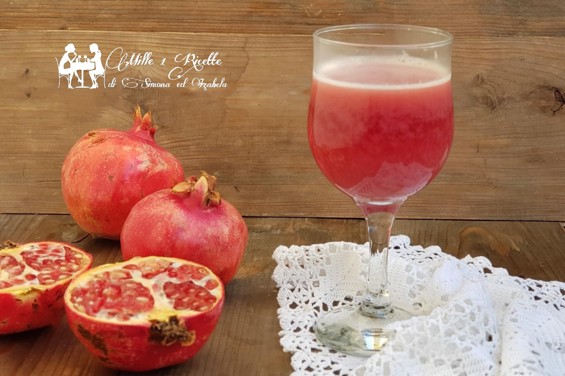 Succo di frutta 100% Melograno