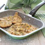 Petto di pollo al pistacchio cotto in forno