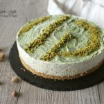 Cheese-cake al pistacchio, senza gelatina e uova