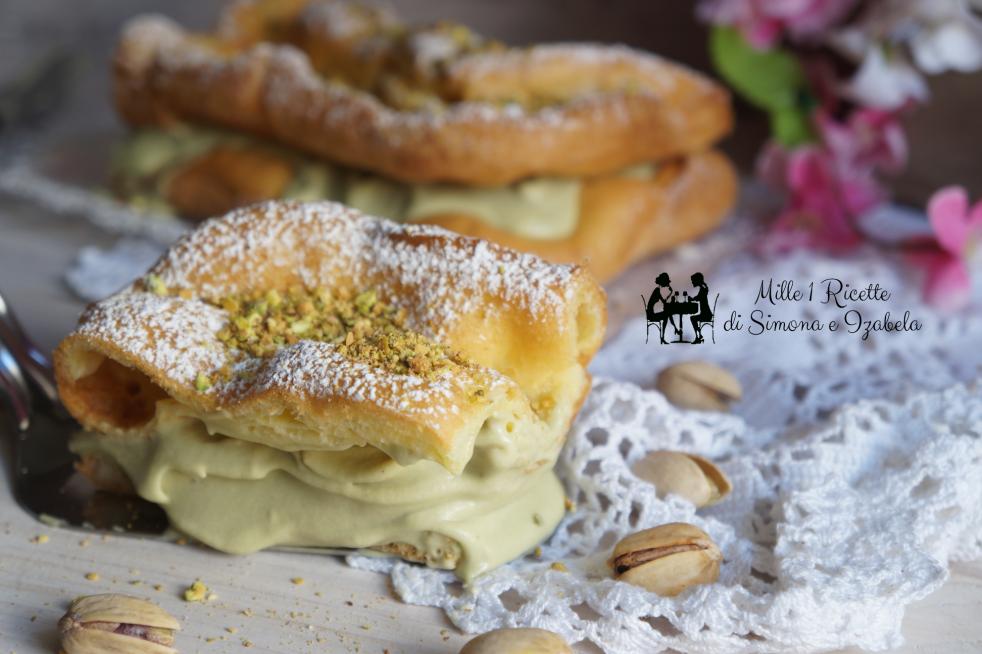 Karpatka al pistacchio