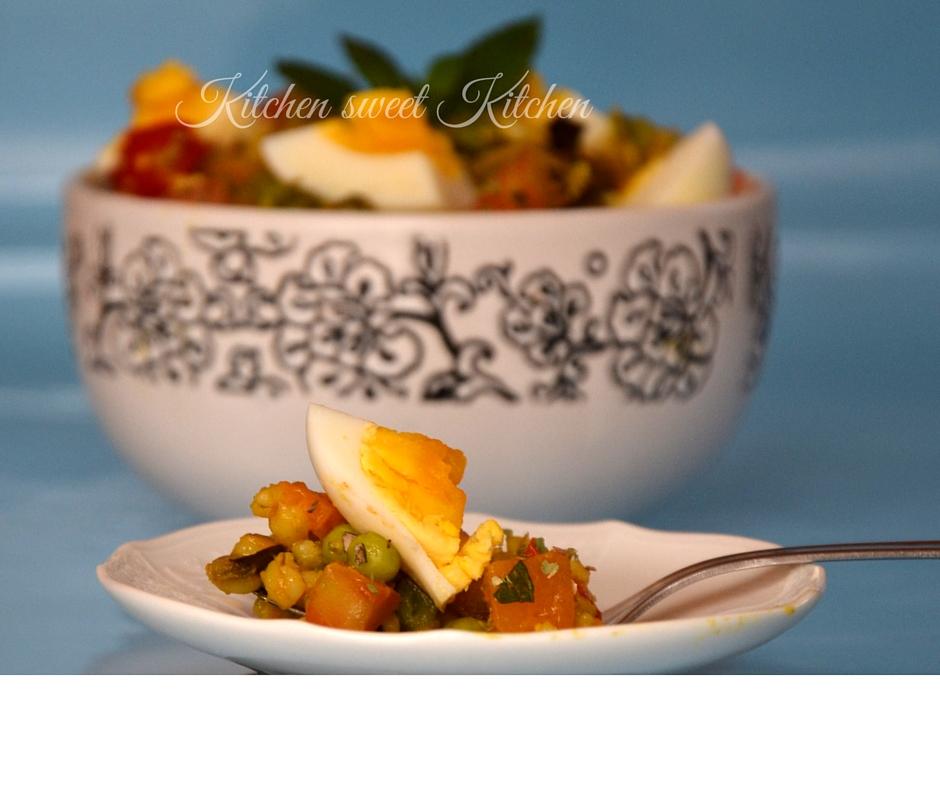 insalata fredda d'orzo decorticato 1