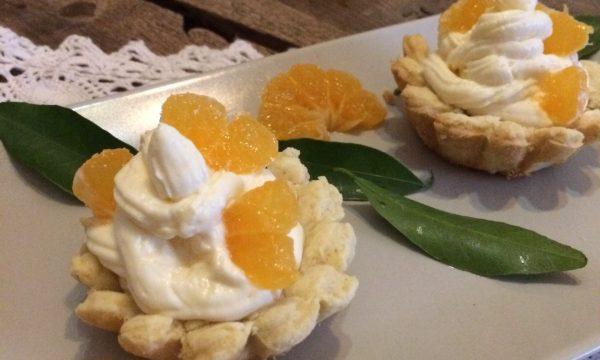 Pasticcini al mandarino