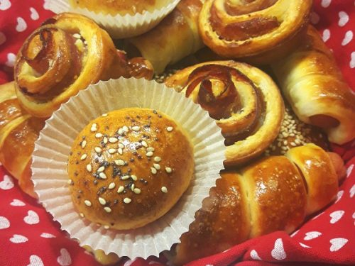 Rustici di Pan Brioche ricetta Bimby