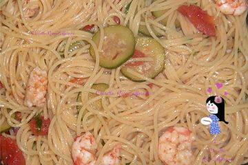 Spaghetti con le mazzancolle