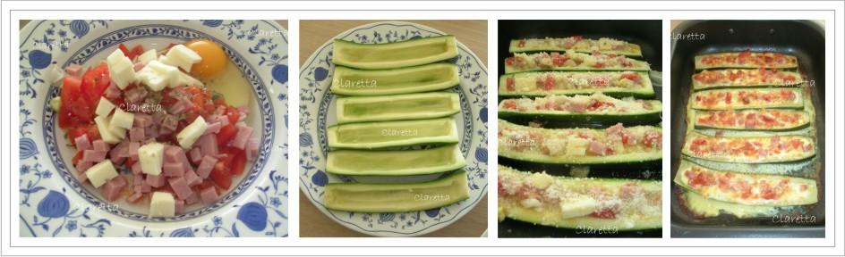 Zucchine ripiene e saporite al forno, Ricette zucchine