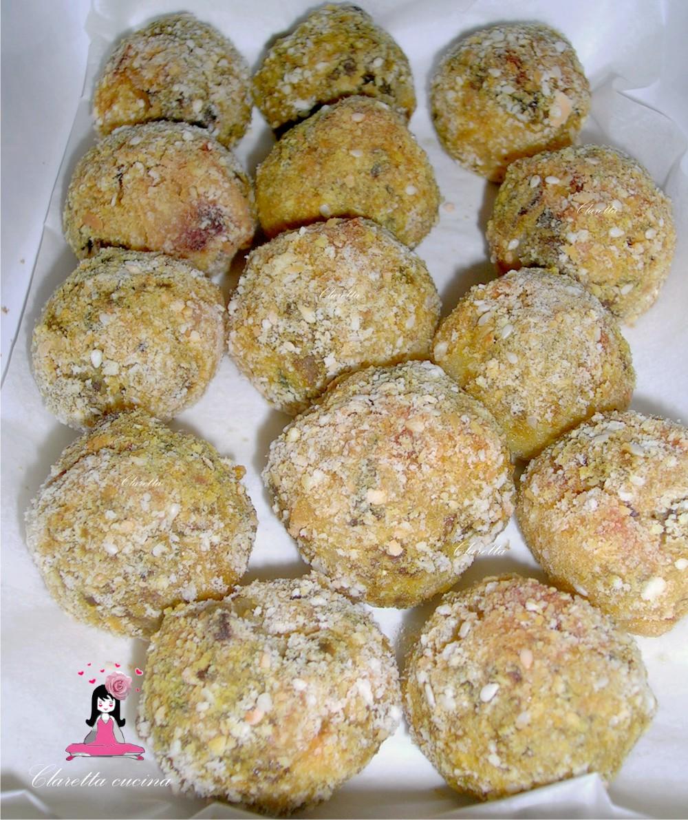 Polpette di melanzane e patate, Polpette saporite al forno