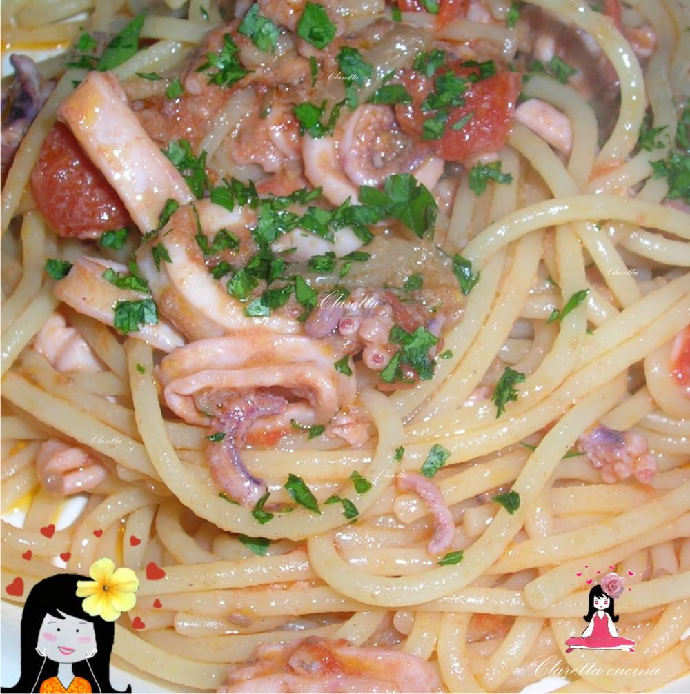 calamari, Ricetta facile, Claretta cucina