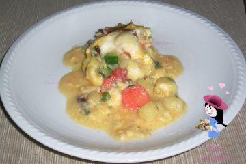 Frittata con verdure.134