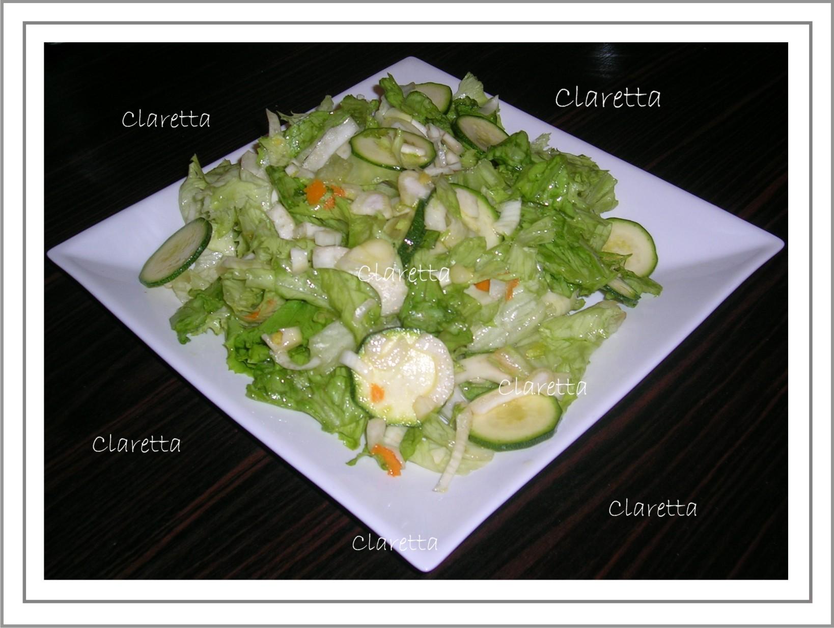 Insalata mista di verdure crude al profumo di arancia, Ricetta facile