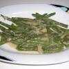 Fagiolini e cipolla in crema besciamella, Ricetta facile