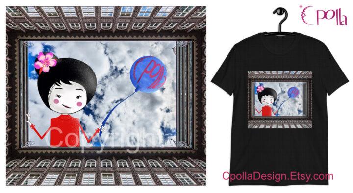 Claretta RosaZafferano maglietta, T-shirt, illustrazione