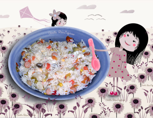 Insalata di riso freddo, Ricetta veloce