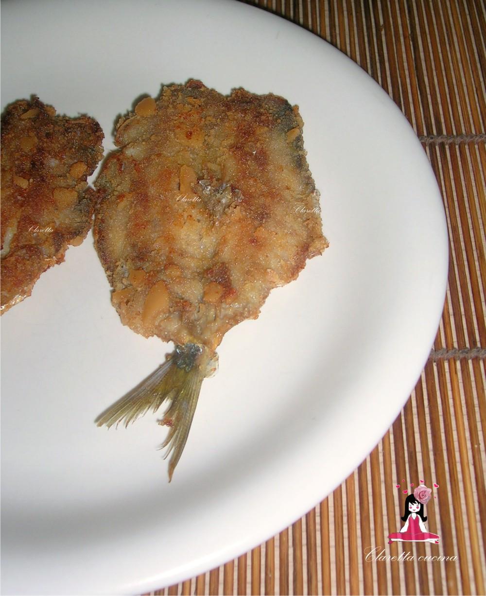 Alici impanate e fritte, Claretta cucina