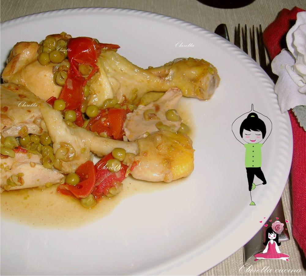 Cosce di pollo, Claretta cucina