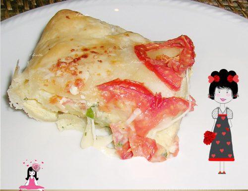 Ricetta torta salata farcita, Torta salata verdure