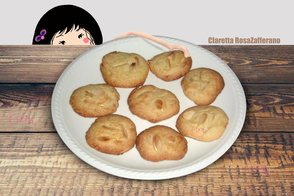 Biscotti| Biscotti alle mandorle morbidi | Ricetta | Claretta RosaZafferano