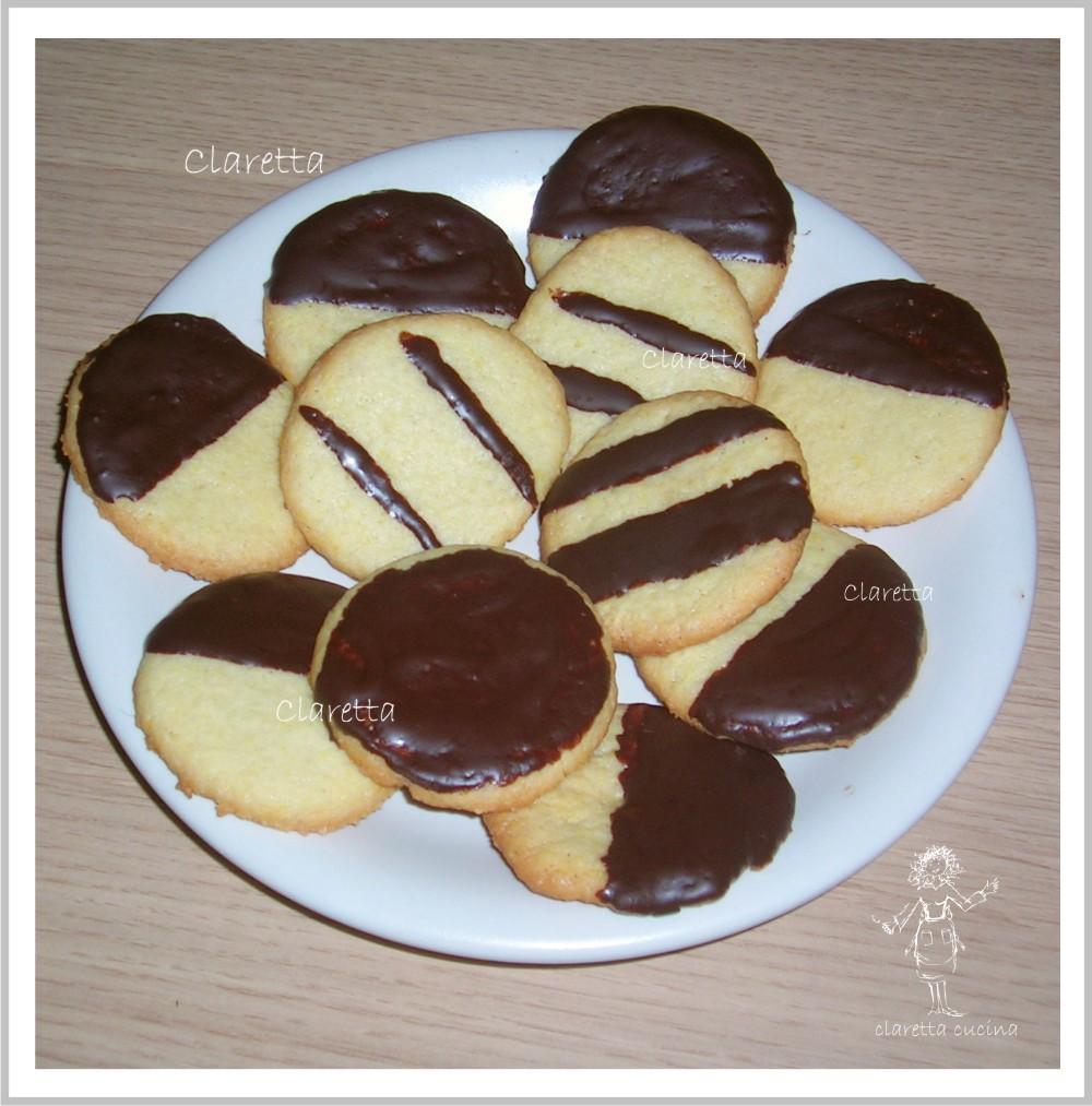 Ricetta Biscotti Semplici.Biscotti Pasta Frolla Torte Ricette Biscotti Al Cioccolato