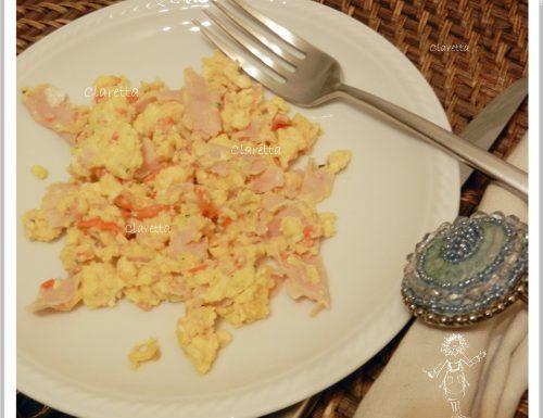 La frittata che non lo è, Ricetta uova strapazzate, Ricette uova