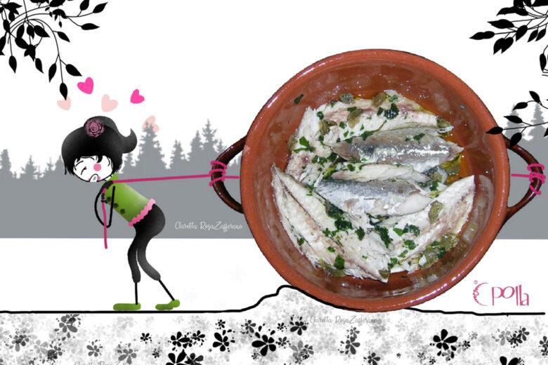 Sgombro ai capperi, Ricetta di pesce