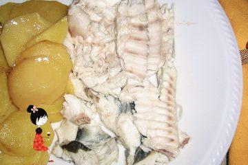 Soaso o Rombo al forno con patate 201